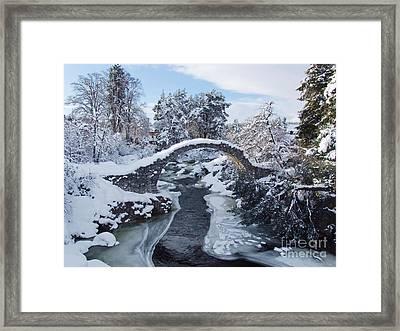 Old Packhorse Bridge   Framed Print