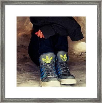 Winter Chill Framed Print