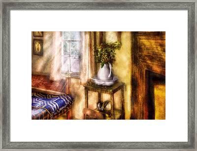 Winter - Christmas - Early Christmas Morning Framed Print