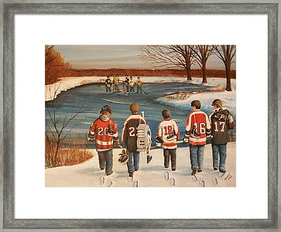 Winter Classic - 2010 Framed Print