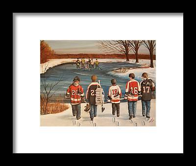 Skate Framed Prints