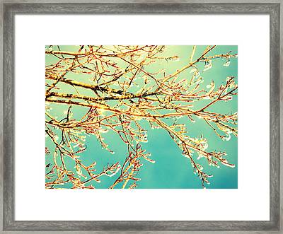 Winter Coat Framed Print