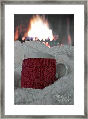 Winter Comfort Framed Print by Birgit Tyrrell
