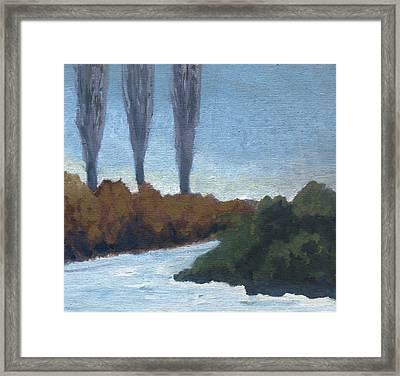 Winter Coming Framed Print by Marco Sivieri