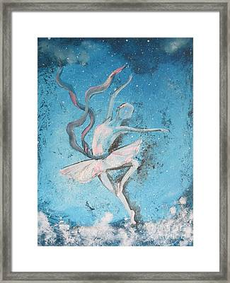 Winter Dancer1 Framed Print