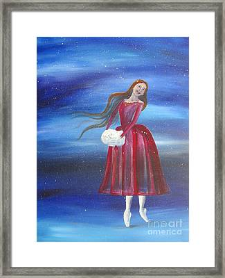 Winter Dancer3 Framed Print