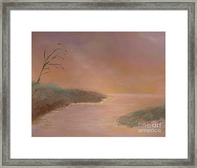 Winter Dawn Framed Print by Alys Caviness-Gober