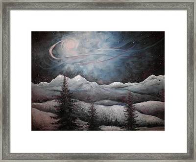 Winter Dream Framed Print by Marianne Stokes