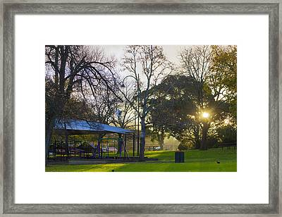 Framed Print featuring the photograph Winter Dreams by Naomi Burgess