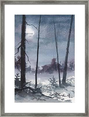 Winter Dreams Framed Print by Sean Seal