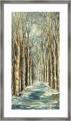 Winter Dreams Framed Print by Tatiana Iliina
