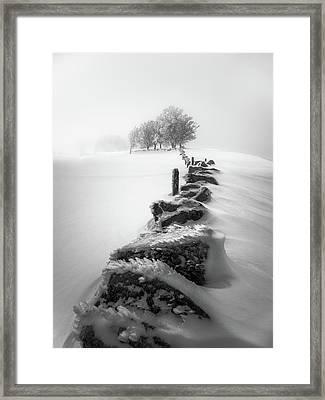 Winter Dress Framed Print