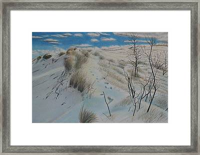Winter Dune Framed Print by Scott Kingery