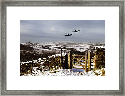 Winter Duo  Framed Print by J Biggadike