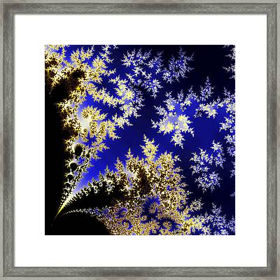 Winter Evening Framed Print by Sylvia Thornton
