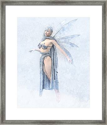 Winter Fairy Framed Print