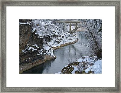Winter Fashion Framed Print