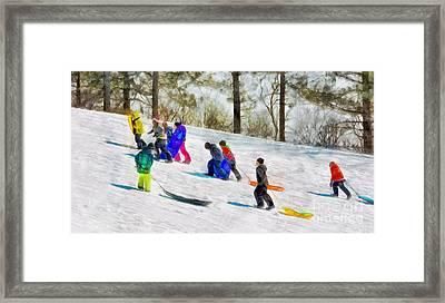 Winter Fest  Framed Print