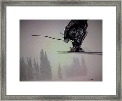 Winter Flight Framed Print by George Pedro