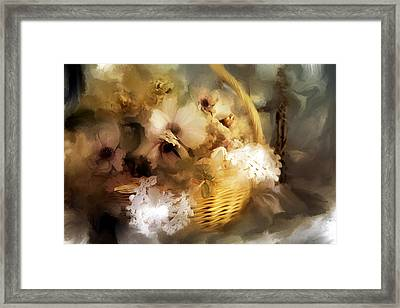 Winter Flowers Framed Print
