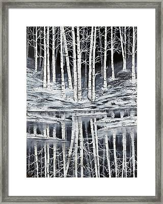 Winter Forest Framed Print by Premierlight Images