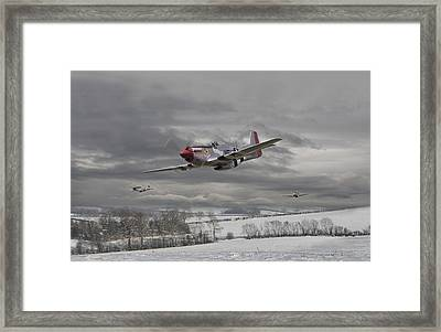 Winter Freedom Framed Print