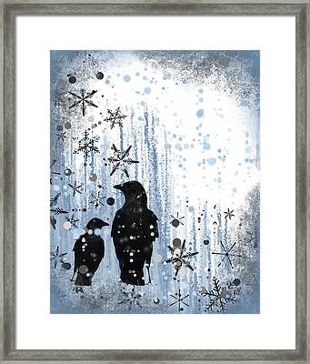 Winter Frolic 2 Framed Print by Melissa Smith