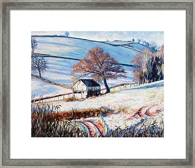 Winter Frost Framed Print by Tilly Willis
