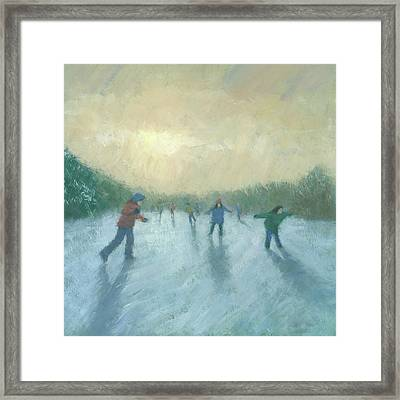 Winter Games Framed Print by Steve Mitchell
