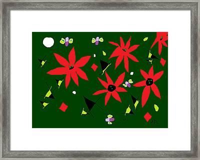 Winter Garden Framed Print by Anita Dale Livaditis