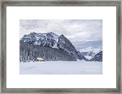 Winter Getaway Framed Print by Evelina Kremsdorf