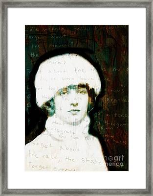 Winter Girl Framed Print by Judy Wood