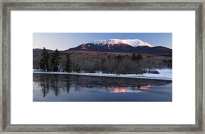 Winter Glow Framed Print by Patrick Downey