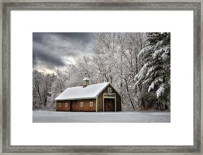 Winter Glow Framed Print by Tricia Marchlik