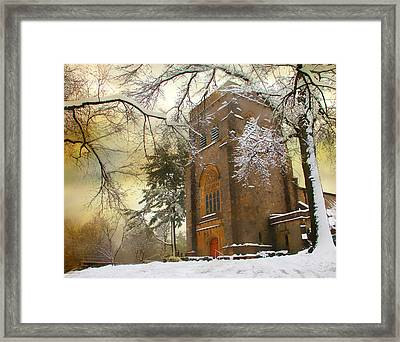 Winter Gothic Framed Print by Jessica Jenney