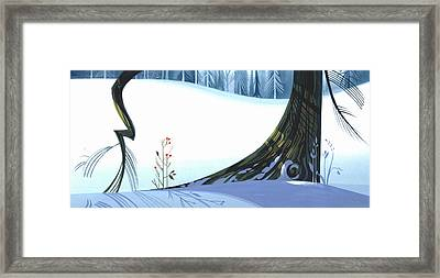 Winter Grace Framed Print