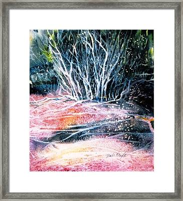 Winter Habitat No.1 Framed Print by Trudi Doyle
