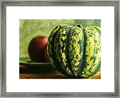 Winter Harvest Framed Print