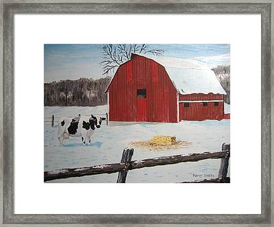 Winter Haven Framed Print by Norm Starks