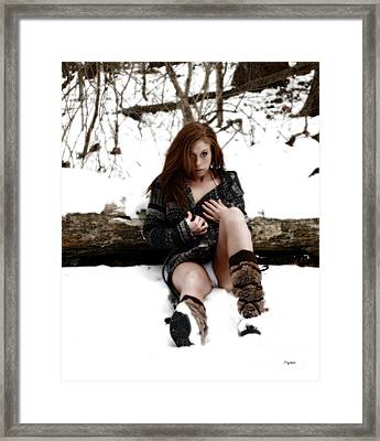 Winter Heat Framed Print