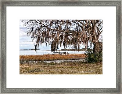 Winter High Tide Framed Print by Scott Hansen