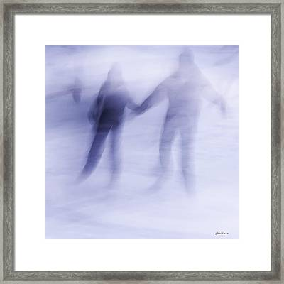 Winter Illusions On Ice - Series 1 Framed Print