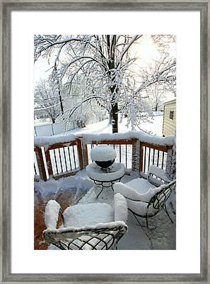 Winter In Minnesota Framed Print