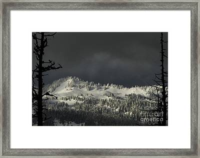 Winter In North Cascades Framed Print by Yulia Kazansky