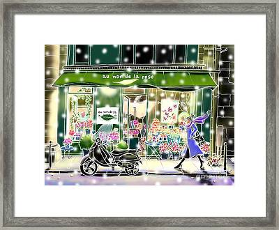 Winter In Paris Framed Print