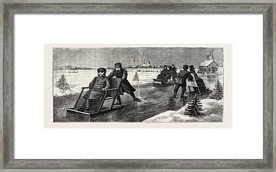 Winter In Russia Framed Print