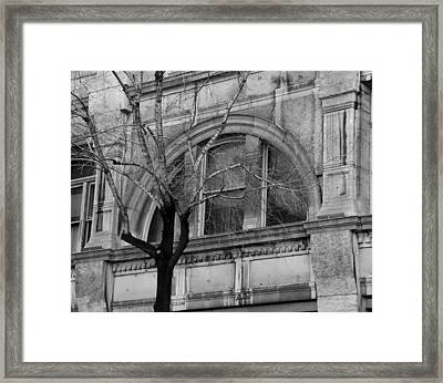Winter In The City Framed Print by David and Mandy
