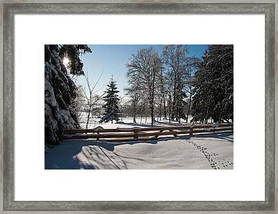 winter in the Harz area Framed Print by Andreas Levi