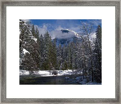 Winter In The Valley Framed Print by Bill Gallagher