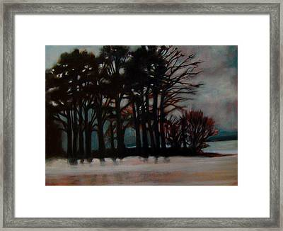 Framed Print featuring the painting Winter by Irena Mohr